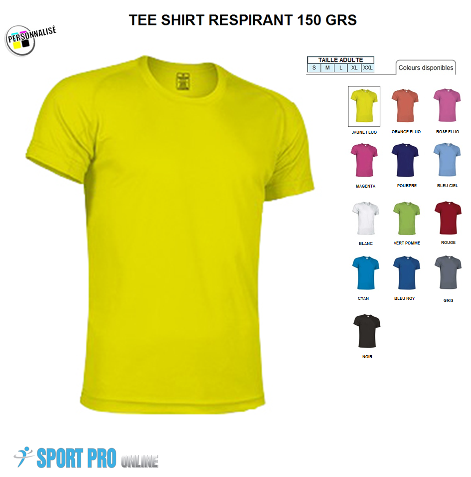 cost charm detailed pictures various styles TEE SHIRT SP POLYESTER RESPIRANT Enfant