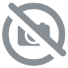 "SHORT DE BAIN ""PIERRE \""  MARINE/ORANGE \"""